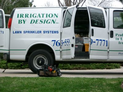 IBD irrigation maintenance truck