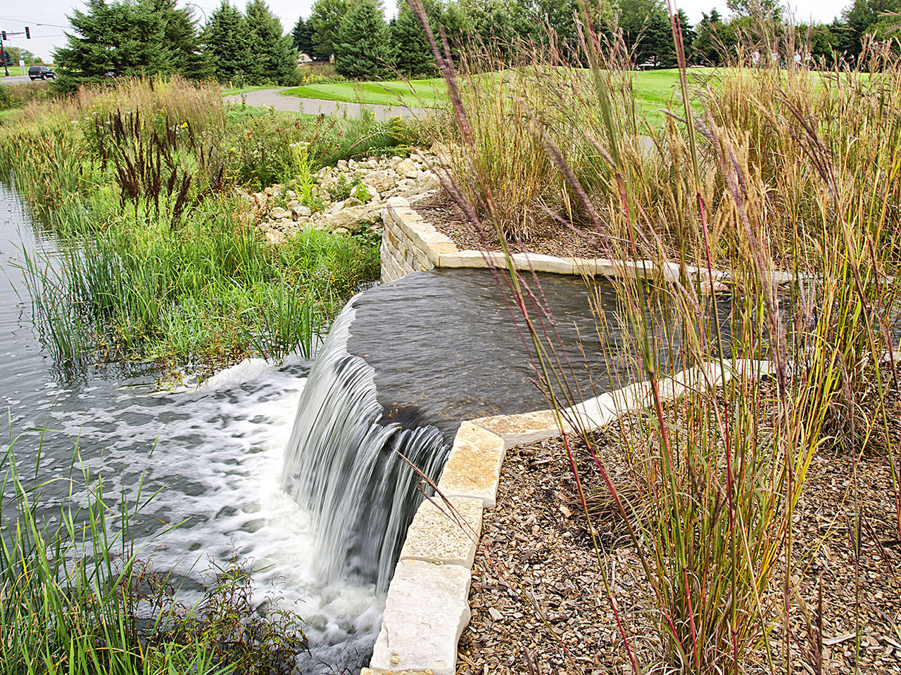stormwater captured and reused for irrigation